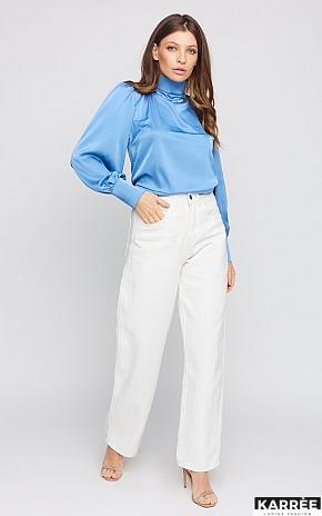 Блуза Ариэль, Голубой - фото 1
