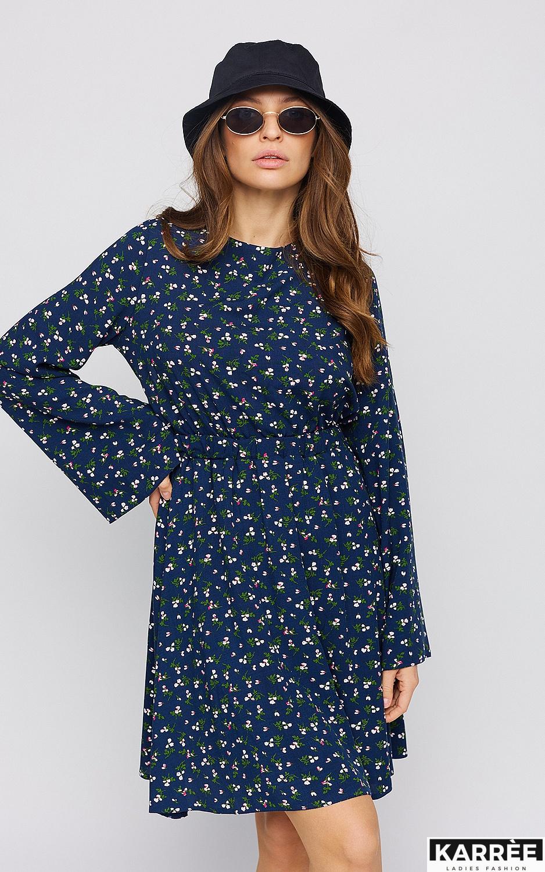 Платье Вивьен, Синий