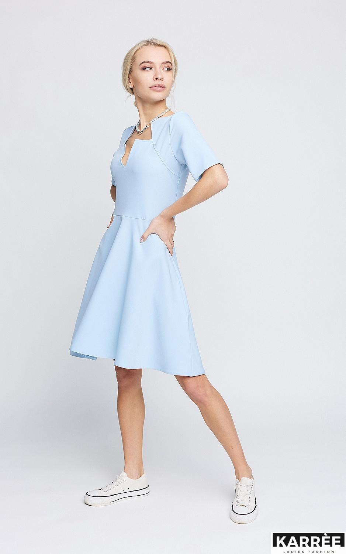 Платье Рэй, Голубой
