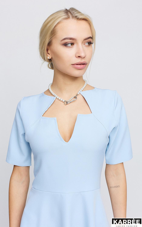 Платье Рэй, Голубой - фото 4