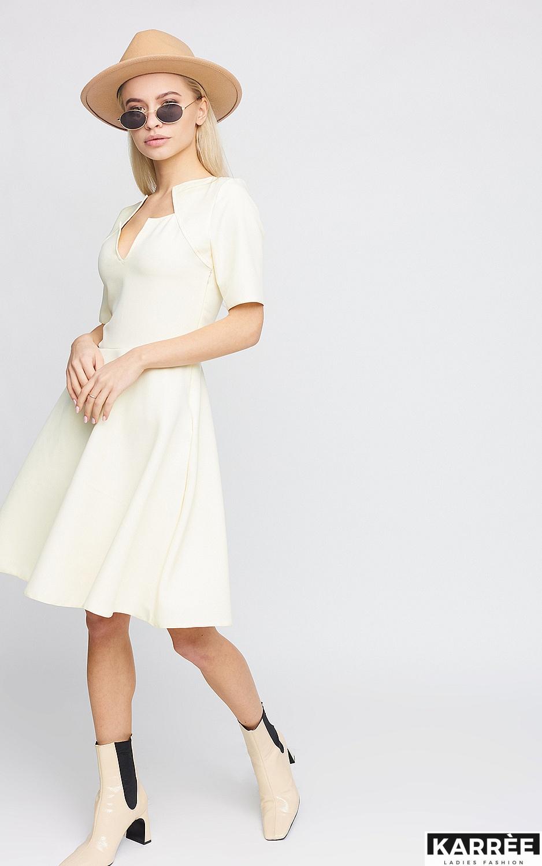 Платье Рэй, Светло-желтый