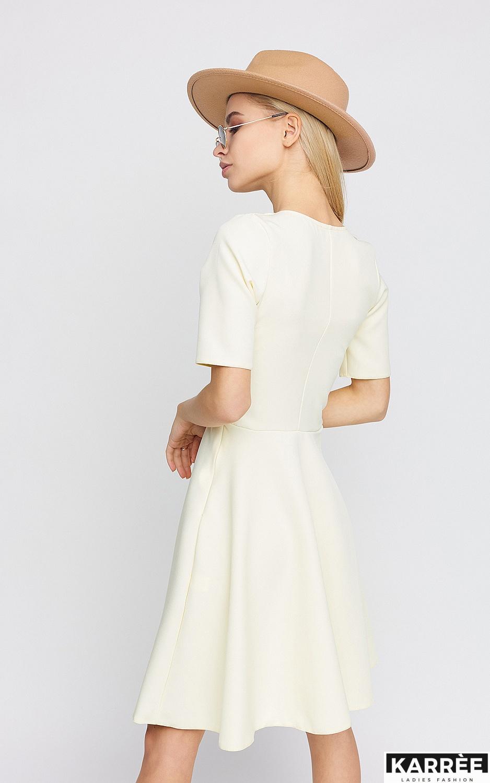 Платье Рэй, Светло-желтый - фото 4