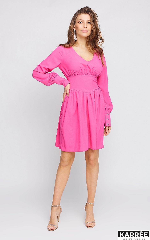 Платье Вэнди, Фуксия - фото 1