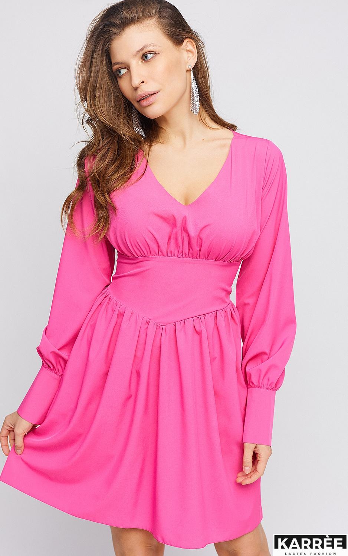 Платье Вэнди, Фуксия - фото 2