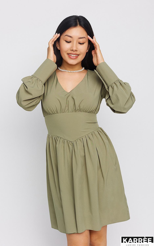 Платье Вэнди, Хаки - фото 2