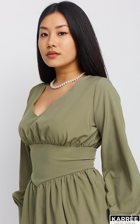 Платье Вэнди, Хаки - фото 3