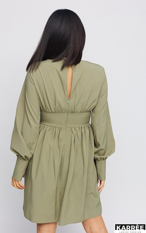 Платье Вэнди, Хаки - фото 4
