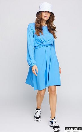 Платье Дебора, Синий - фото 1