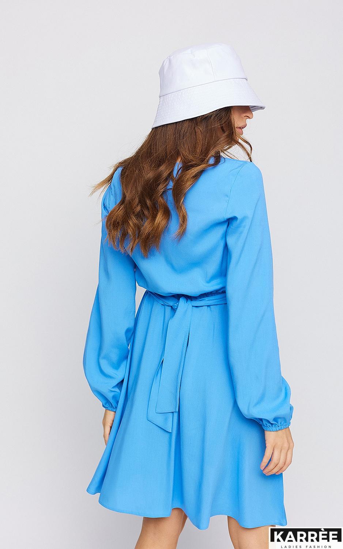 Платье Дебора, Синий - фото 4