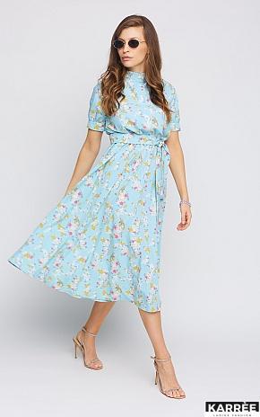 Платье Палмер, Голубой - фото 1