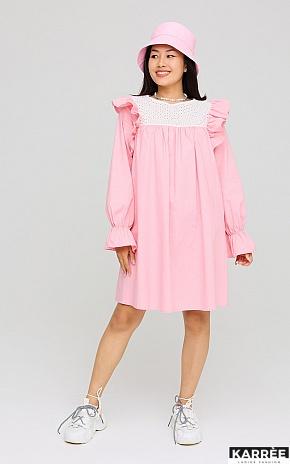 Платье Вуд, Розовый - фото 1