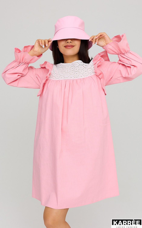 Платье Вуд, Розовый