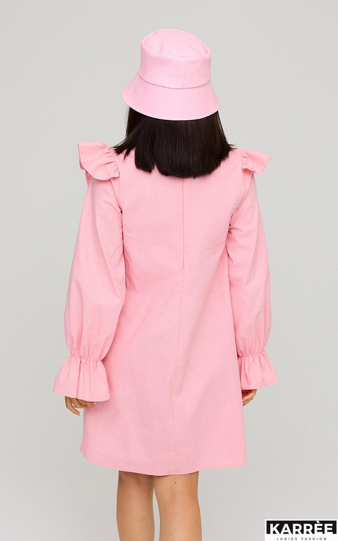 Платье Вуд, Розовый - фото 4