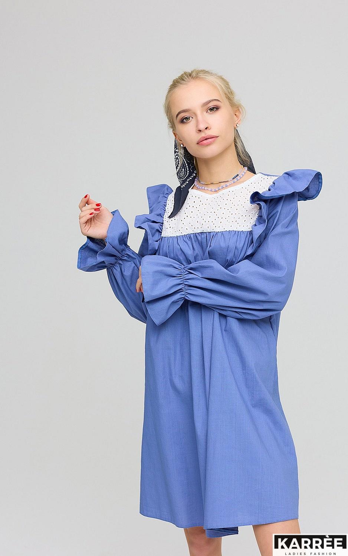 Платье Вуд, Синий - фото 2