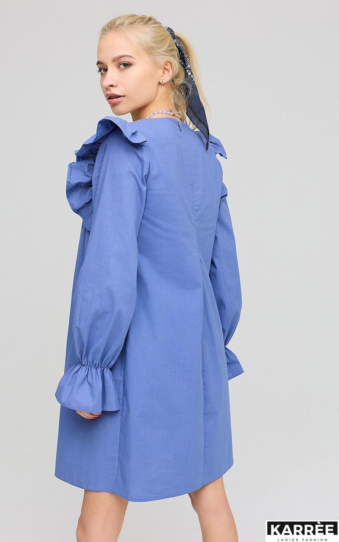Платье Вуд, Синий - фото 3
