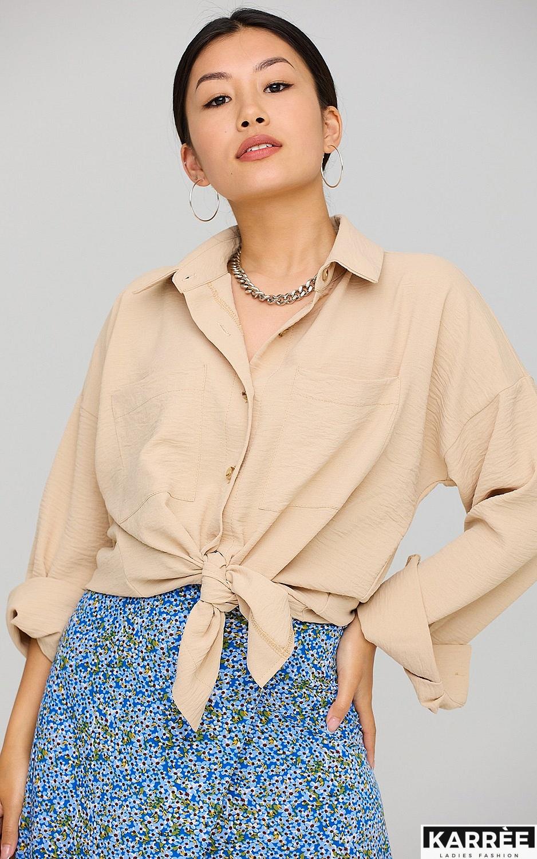 Рубашка Розмари, Бежевый - фото 2