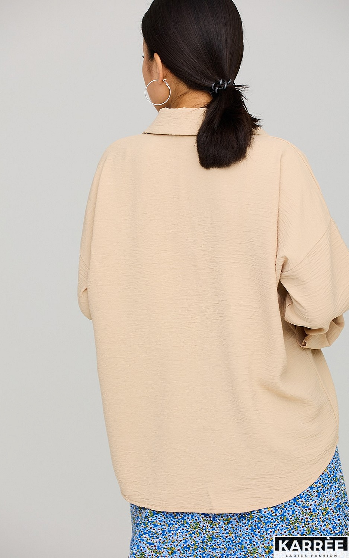 Рубашка Розмари, Бежевый - фото 4