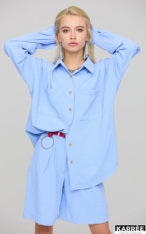 Рубашка Розмари, Голубой