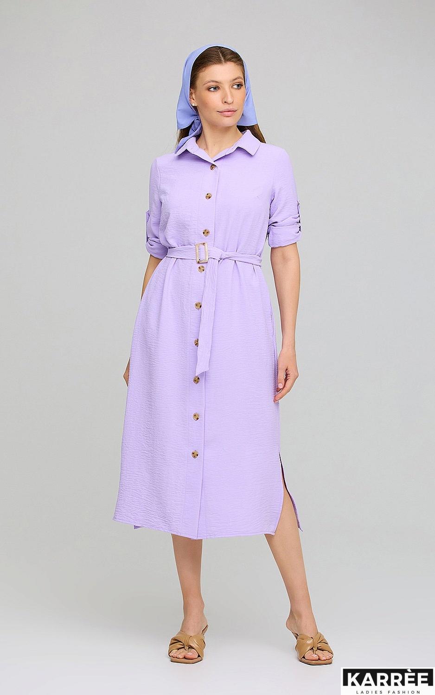 Платье Адель, Лиловый - фото 1