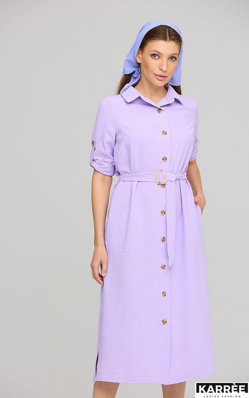 Платье Адель, Лиловый - фото 2