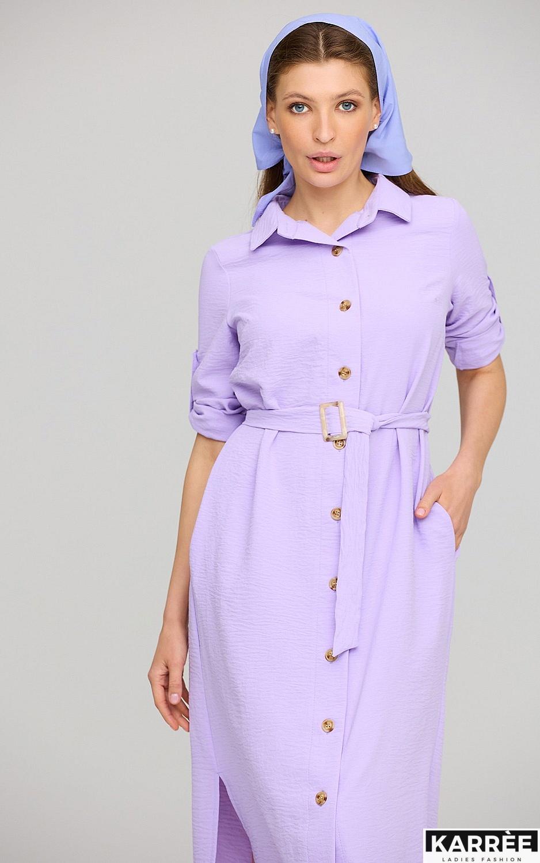 Платье Адель, Лиловый - фото 3