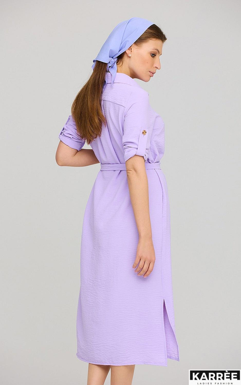 Платье Адель, Лиловый - фото 4