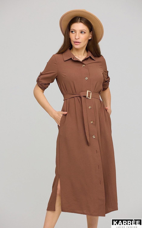 Платье Адель, Шоколадный