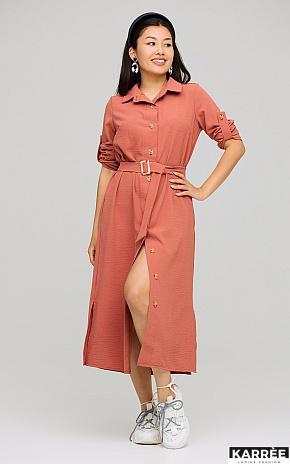 Платье Адель, Кирпичный - фото 1