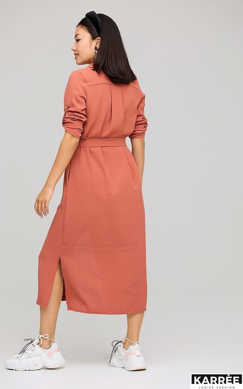 Платье Адель, Кирпичный - фото 3
