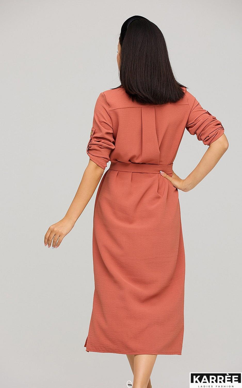 Платье Адель, Кирпичный - фото 4