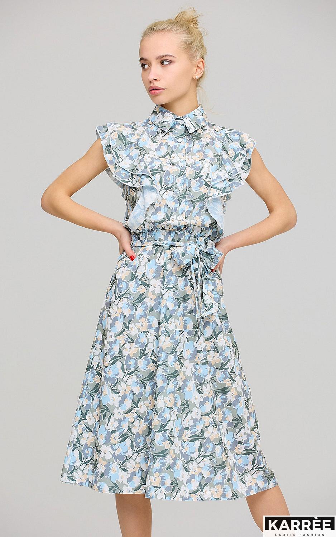 Платье Бетани, Голубой - фото 2
