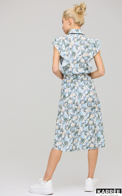 Платье Бетани, Голубой - фото 3