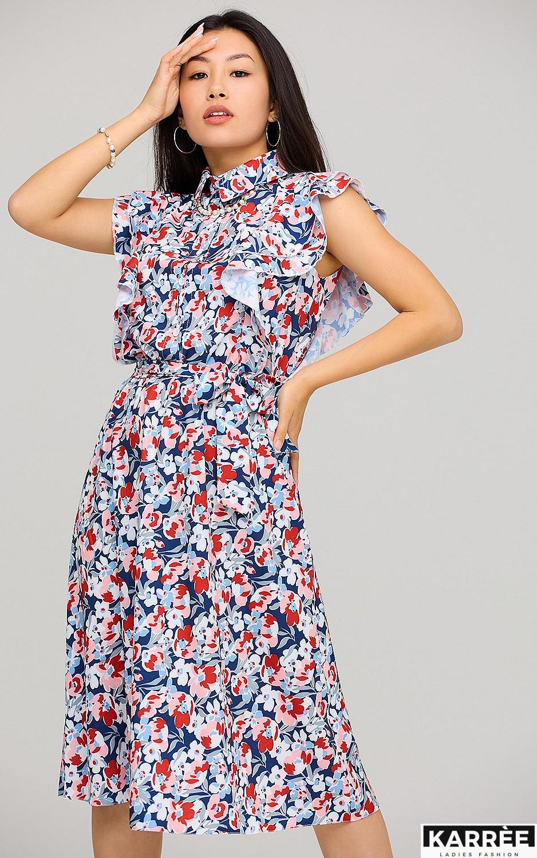 Платье Бетани, Красный