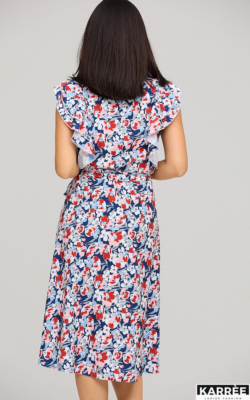 Платье Бетани, Красный - фото 4
