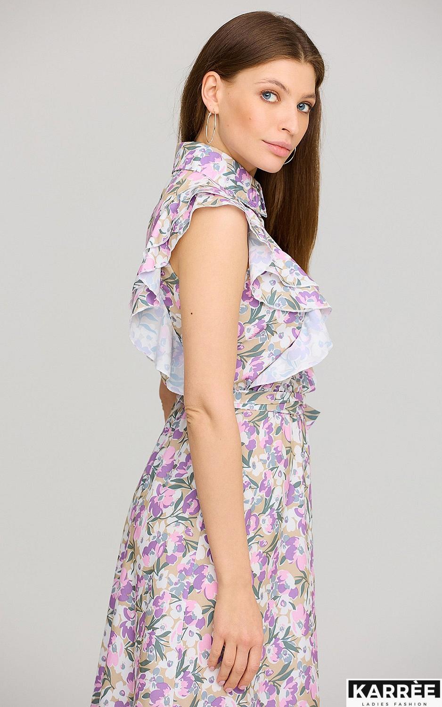 Платье Бетани, Лиловый - фото 3