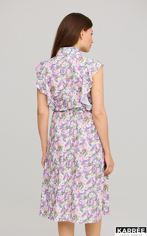Платье Бетани, Лиловый - фото 4