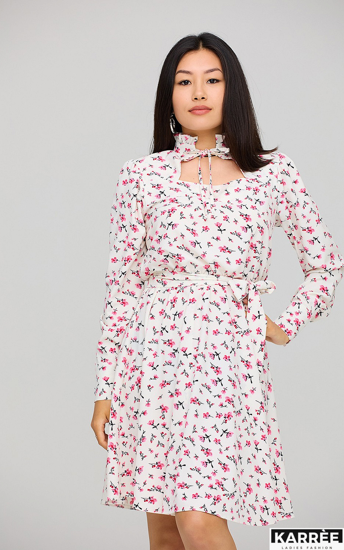Платье Айви, Белый