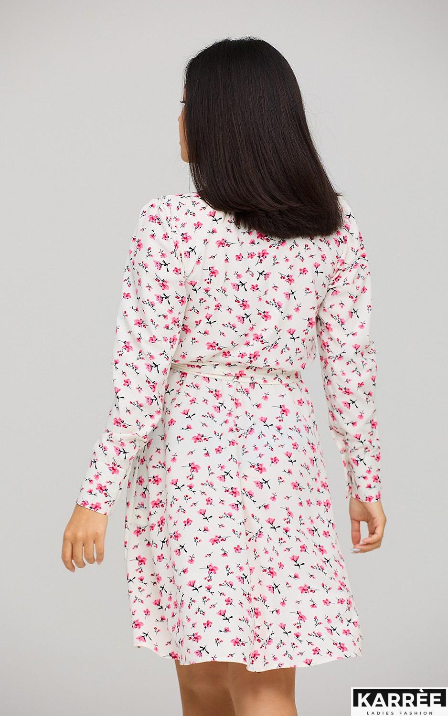Платье Айви, Белый - фото 4