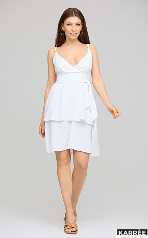 Платье Поппи, Белый - фото 1