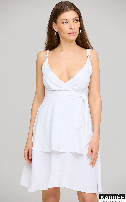 Платье Поппи, Белый - фото 3