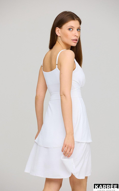 Платье Поппи, Белый - фото 4