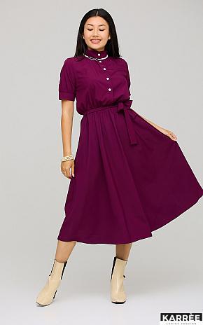 Платье Фейт , Бургунди - фото 1