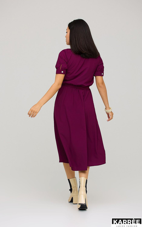 Платье Фейт , Бургунди - фото 4
