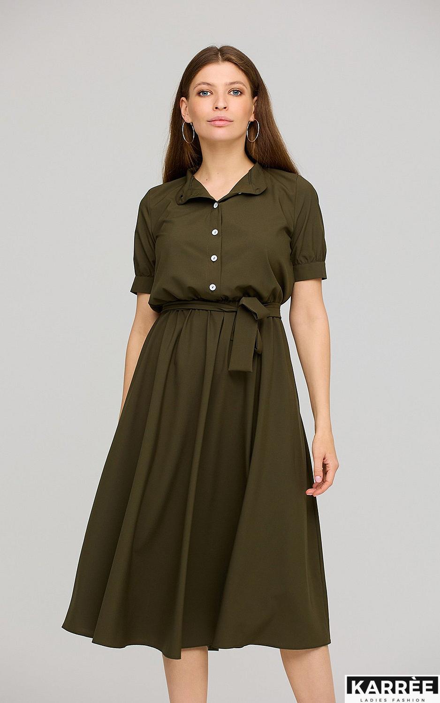 Платье Фейт , Хаки