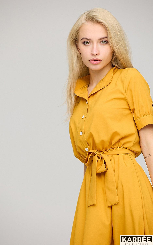 Платье Фейт , Горчичный - фото 3