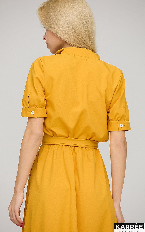Платье Фейт , Горчичный - фото 4