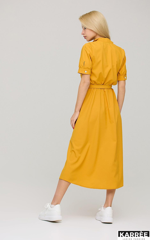 Платье Фейт , Горчичный - фото 5
