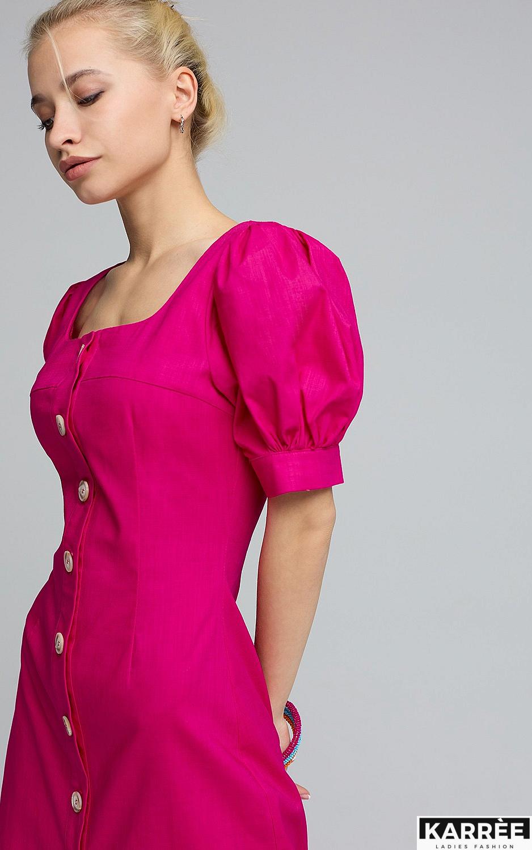 Платье Мия, Фуксия - фото 2