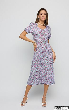 Платье Хайди, Голубой - фото 1