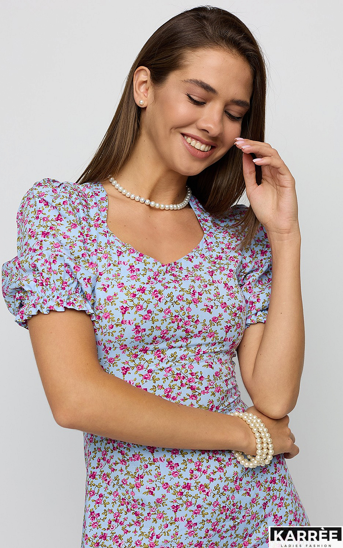 Платье Хайди, Голубой - фото 2